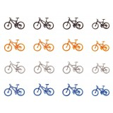 F180445 rowery górskie 16szt (H0)