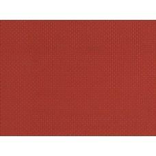 A52412 płytka plastikowa cegła czerwona 100X 200 mm (H0,TT,N)