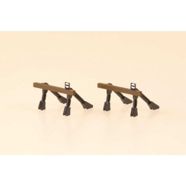 Auhagen 44653 kozioł oporowy, zakończenie toru  2 szt.13 x 16 x 10 mm (N)