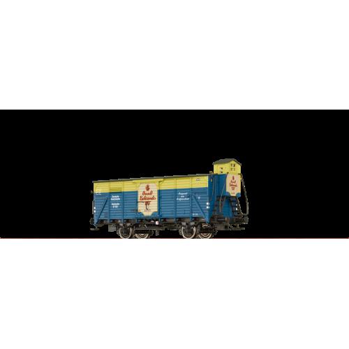 Brawa 49786 wagon zakryty G10 DRG KARLSRUHE 47103 Onno Behrends TEE ep.II (H0)