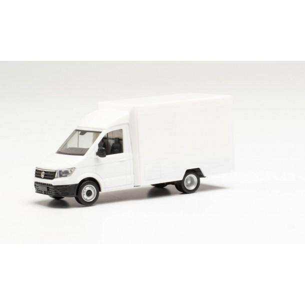Herpa 013864 MiniKit: auto  VW Crafter Foodtruck, biały   do składania (H0)