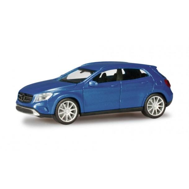 Herpa 038317-003 model samochodu Mercedes-Benz GLA-Klasse, denimblue metallic  (H0)