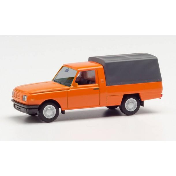 Herpa 420938  samochod   Wartburg 353'85 dostawczy, pomarańczowy (H0)