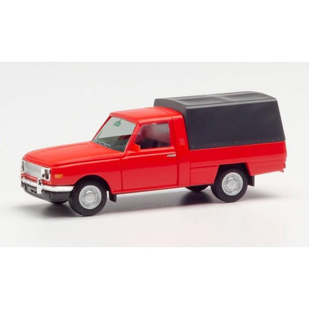 Herpa 420952 samochod   Wartburg 353'85 dostawczy, czerwony (H0)