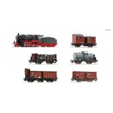 Roco 61481 zestaw pociag towarowy KPEV z lokomotywą G8.2 ep.I DCC SOUND (H0)