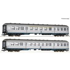 Roco 64175 zestaw 2 wagony osobowe Karlsruher Zug  ep.IV (H0)