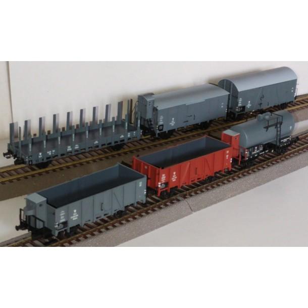 Brawa 00006 zestaw specjalny 6  wagonów towarowych PKP ep.IIIb (H0)