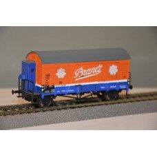 Exact Train 20242 wagon towarowy zakryty Gms 30  Brandt 223723 DB   ep.III (H0)