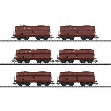 TR24122 zestaw 6 wagonów samowyładowczych DRB  ep. II (H0)