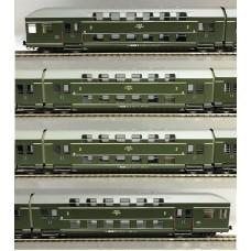 HRS4289 wagon pietrowy 4 członowy PKP Bipa Stacja Poznań ep.IVb (H0)