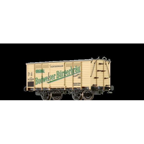 br48031 wagon piwiarka KKStB  223 607 P Bugerliches Brauhaus Budweis   ep.I (H0)
