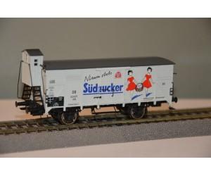 br49054 wagon towarowy zakryty G10 Sudzucker 123671    DB ep.III (H0)