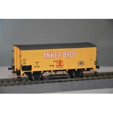 br49058 wagon towarowy zakryty G  Anker Brot OBB 161 643   ep.III (H0)
