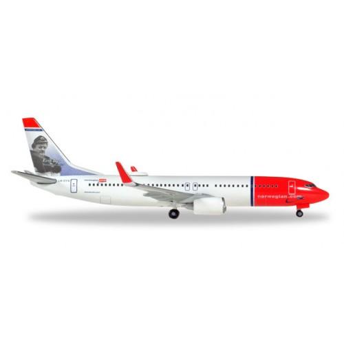 "h529280-001 samolot    Norwegian Air Shuttle Boeing 737-800 - LN-DYA ""Erik Bye""  (1:500)"