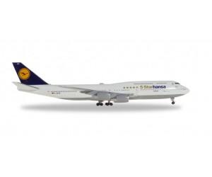 """h531504 samolot  Lufthansa Boeing 747-8 Intercontinental """"Starhansa"""" - D-ABYM """"Bayern""""  (1:500)"""