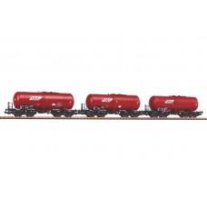 Już w sprzedaży Piko 58361 zestaw wagonów  cystern PKP DEC -  GATXP  ep.VI (H0)