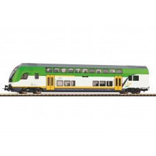p58807 wagon pietrowy sterowniczy 2kl Koleje Mazowieckie długość 1: 100,  ep.VI  (H0)