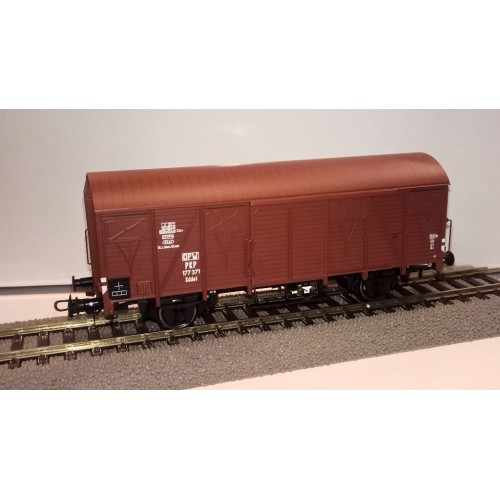 HRS6435  Wagon kryty serii Kddet , typ 223K/1,  177 371 PKP ep.IIIc (H0)