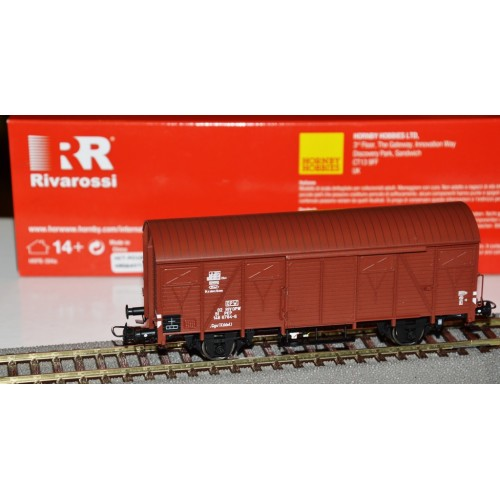 HRS6436  Wagon kryty serii Ggs (Kddet) , 0251 148 6 784-6 PKP ep.IVa (H0)
