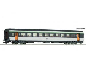 RC74534 wagon osobowy bezprzedziałowy B10tu  2kl. SNCF   ep.IV (H0)