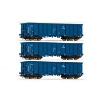 już w sprzedaży Roco 76128 zestaw 3 wagony Eaos PKP Cargo ep.VI