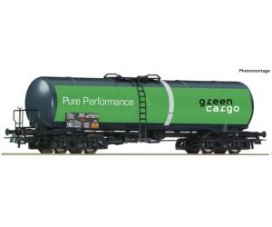 rc76698 wagon cysterna Green Cargo SJ   ep.VI (H0)