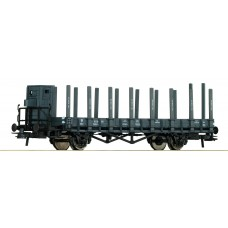 już w sprzedaży Roco 66349 wagon platforma 0 636 014 Pdkh31  PKP  ep.IIIb