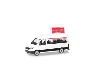 h012935  auto  MAN TGE Bus, biały, MINI KIT (H0)