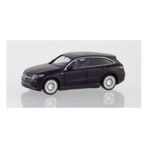 h038966 samochód  Mercedes-Benz EQC AMG,  czarny matowy  (H0)