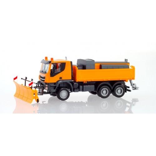 H310727  auto  Iveco Trakker 6x6 pług odśnieżny   (H0)