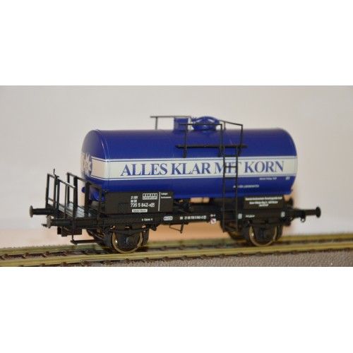 br49212 wagon cysterna DB 2180 735 5 842-9 Alles Klar Mit Korn  ep.IV  (H0)
