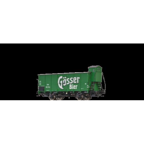 br49705  wagon zakryty G10 OBB 560 011P GOSSER BIER ep.III (H0)