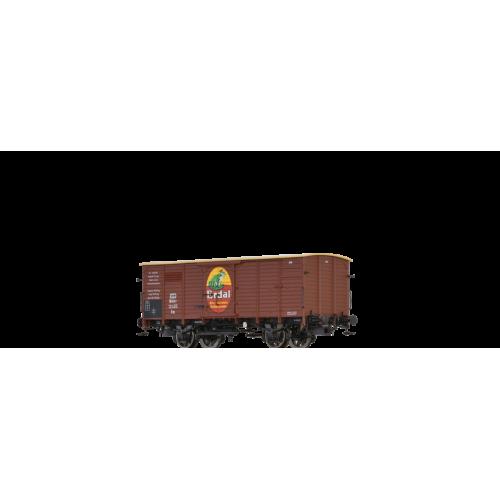 br49742 wagon zakryty G10  Nm KPEV 13 455 Mainz ERDAL   ep.I (H0)