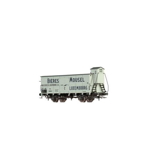 "br49758  wagon towarowy 500 016 [P]  ""Mousel Bieres""  CFL ep.III (H0)"