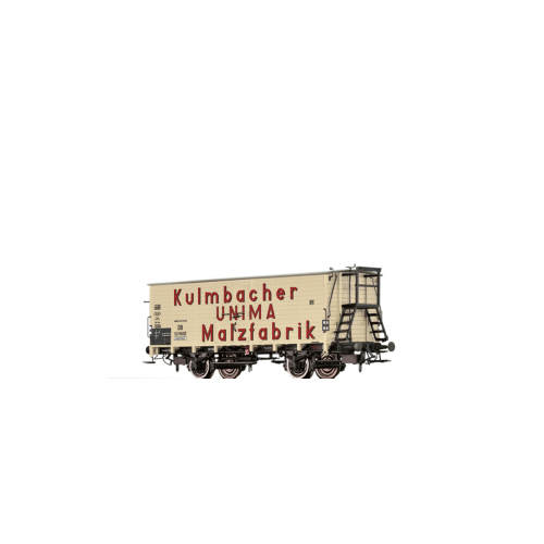"""br49766  wagon towarowy 521 582 [P] """"Kulmbacher UNIMA Malzfabrik DB ep.III (H0)"""