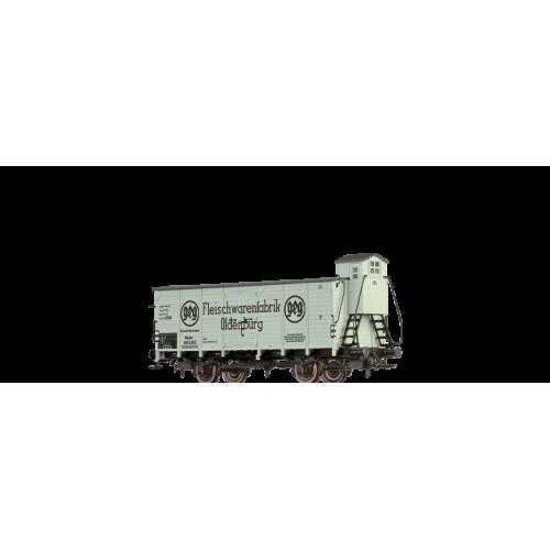"""br49768  wagon towarowy  Munster 589 328 [P]  """"Fleischwarenfabrik Oldenburg"""" DRG ep.II (H0)"""