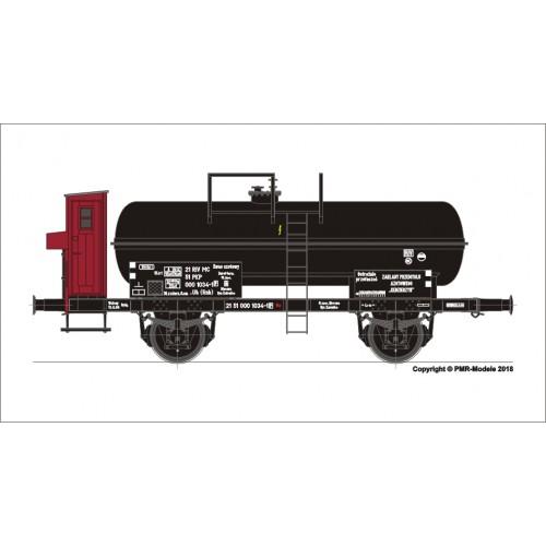 TI501918 wagon wagon cysterna do przewozu  kwasu azotowego .Uh (Rnh)  PKP ep. IVa (H0)