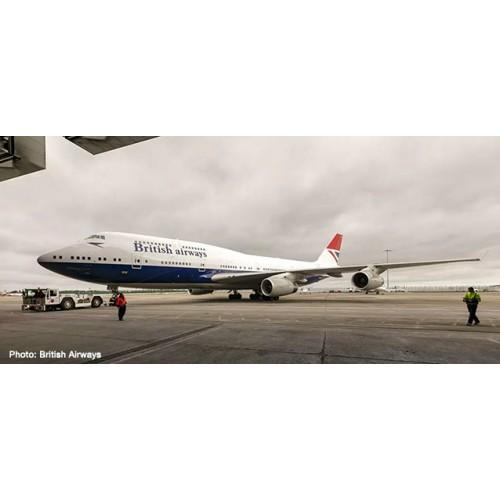 """h533508 samolot  British Airways Boeing 747-400 """"100th"""" Negus Design (1:500)"""
