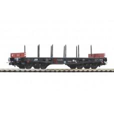 p58417  wagon platforma  typ  401Ze Rmmps  PKP   ep.IV (H0)