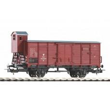 p58927 wagon zakryty G02 Kd PKP epIII a , brązowy  z orłem   (H0)