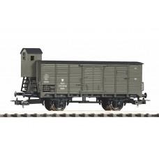 p58928 wagon zakryty G02 Kdnh  PKP epIII a , szary   z orłem   (H0)