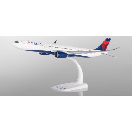 H612388  samolot   Delta Air Lines Airbus A330-900 neo  N401DZ  snap fit  (1:200)