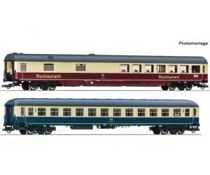 RC74163 zestaw 2 wagony osobowe DB EC Leonardo Da Vinci ep.V (H0)