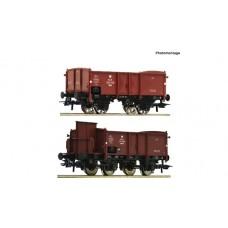 JUŻ W SPRZEDAŻY Roco 76069  zestaw 2 wagony weglarki PKP   Ep.III (H0)