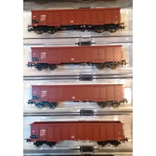 już w sprzedaży Roco RC76083PMR  zestaw 4 wagony węglarki Eaos-x  seria limitowana PMR Modele   ep.IV (H0)