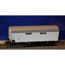 już w sprzedaży Roco 76559EX wagon towarowy chłodnia PKP Browar Okocim ep.III (H0)