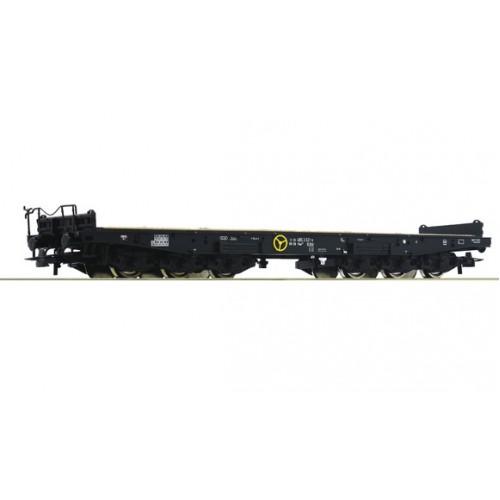 Roco 76758 wagon platforma DB Sas 3180 485 3 321-6 ep.IV (H0)