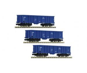 FL852329 zestaw 3 wagony Eaos PKP Cargo ep.VI (N)