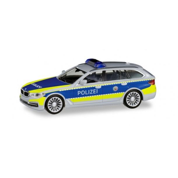 """Herpa 095006 auto BMW 5er Touring """"Autobahnpolizei Nordrhein-Westfalen""""  (H0)"""