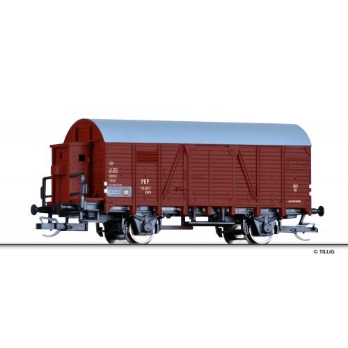 Tillig 17120 wagon zakryty Kdth  PKP 113 257 ep. III (TT)